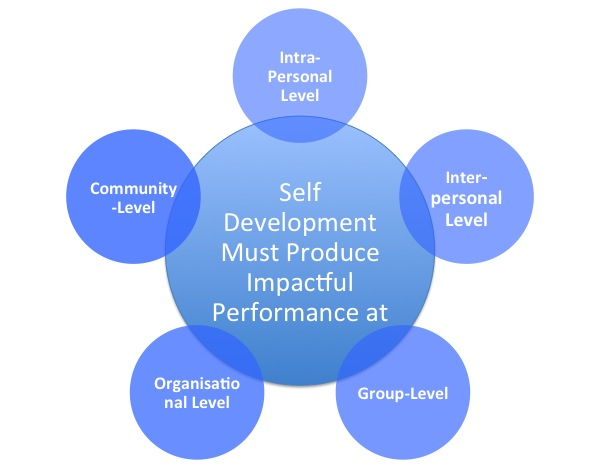 The Five Impact levels of Self Awareness development